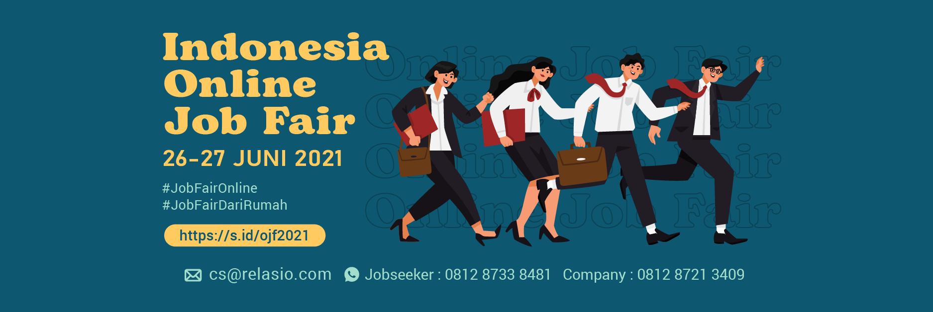 Job Fair Online Relasio.com Juni 2021