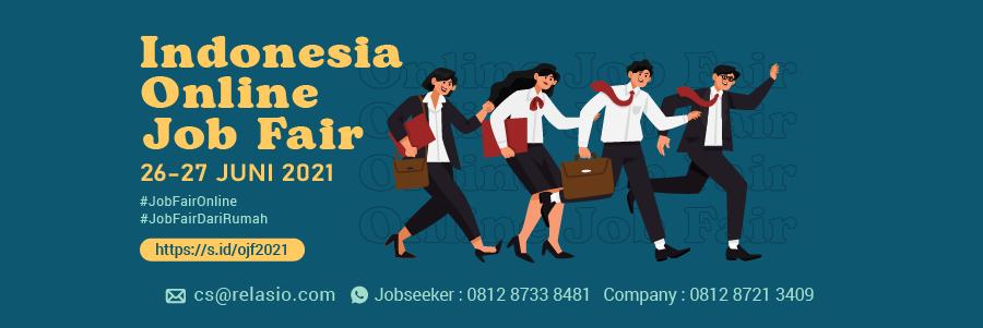 Indonesia Career Expo Job Fair Online 29 - 30 Juni 2021