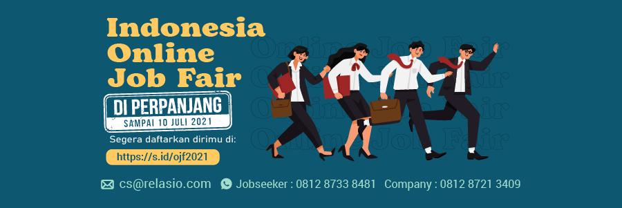 Indonesia Career Expo Job Fair Online 29 Juni - 10 Juli 2021