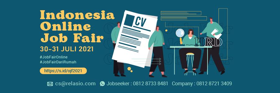 Indonesia Career Expo Job Fair Online 30 - 31 Juli 2021