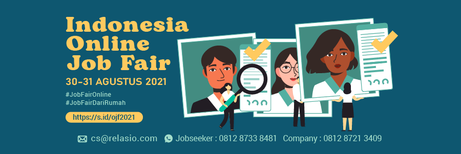Indonesia Career Expo Job Fair Online 30 - 31 Agustus 2021