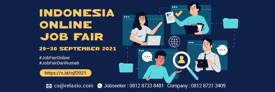 Indonesia Career Expo Job Fair Online 20 - 30 September 2021
