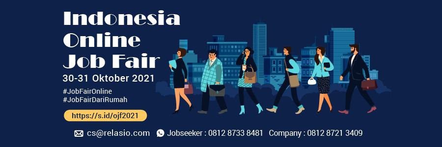 Indonesia Career Expo Job Fair Online 30 - 31 Oktober 2021